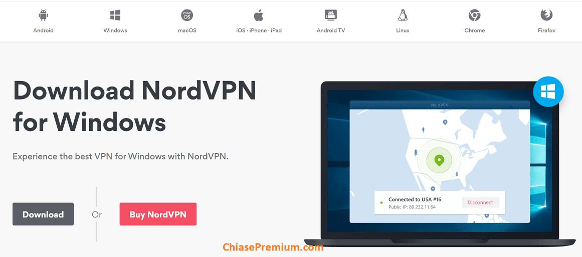 NordVPN ho tro nhieu nen tan - Chia sẻ trải nghiệm tài khoản NordVPN Premium