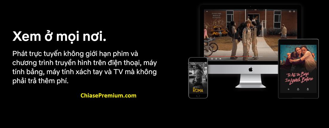 Netflix đang dần chiếm thị phần ở thị trường Việt Nam nhờ ảnh hưởng của thương hiệu lớn.