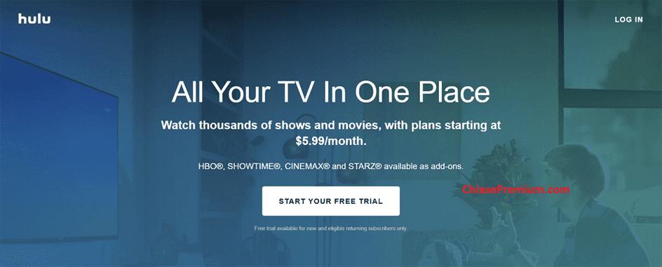 tai khoan hulu - Bạn đang dùng dịch vụ giải trí online nào ? Chia sẻ một số tài khoản giải trí trực tuyến Premium 2020