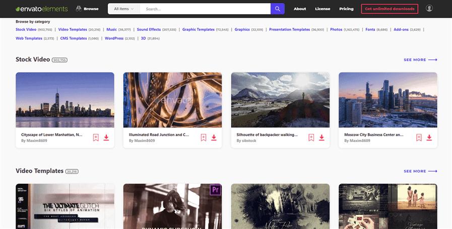 3 Cac tai nguyen tren Envato Elements - Review Envato Elements (2021) - Thư viện hỗ trợ làm website Wordpress phổ biến