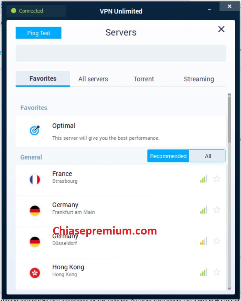 5. Giao dien thiet ke truc quan de su dung - Đánh giá nhanh tài khoản KeepSolid VPN Unlimited 2020
