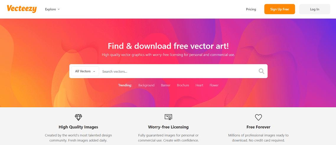 8 Vecteezy - Review Envato Elements (2021) - Thư viện hỗ trợ làm website Wordpress phổ biến