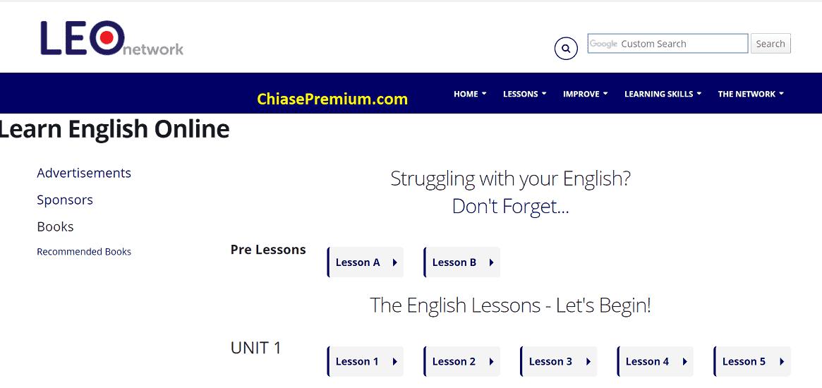 Learn English Online là website lý tưởng cung cấp mọi kiến thức về ngôn ngữ Anh