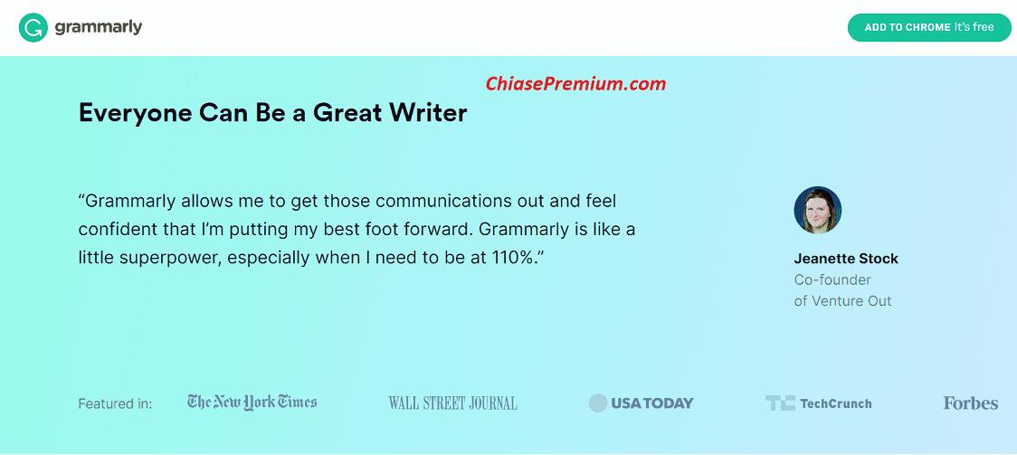 Grammarly là một công cụ kiểm tra ngữ pháp cao cấp, có thể kiểm tra chính xác bài viết tiếng Anh của bạn