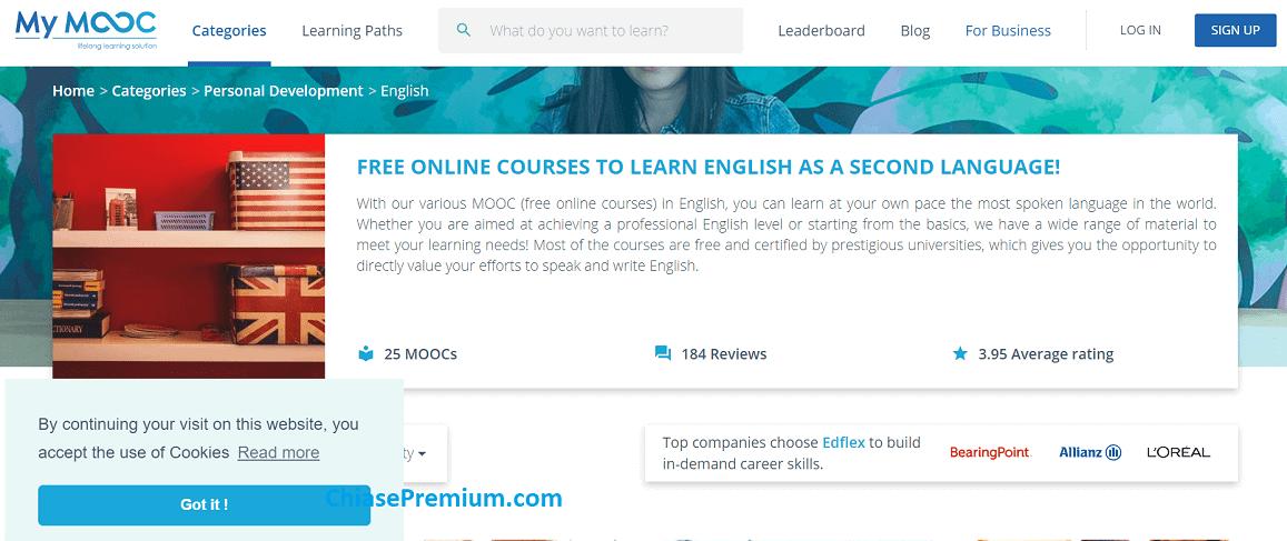 My MOOC là rất phù hợp cho những bạn bận rộn nhưng cần học tiếng Anh.
