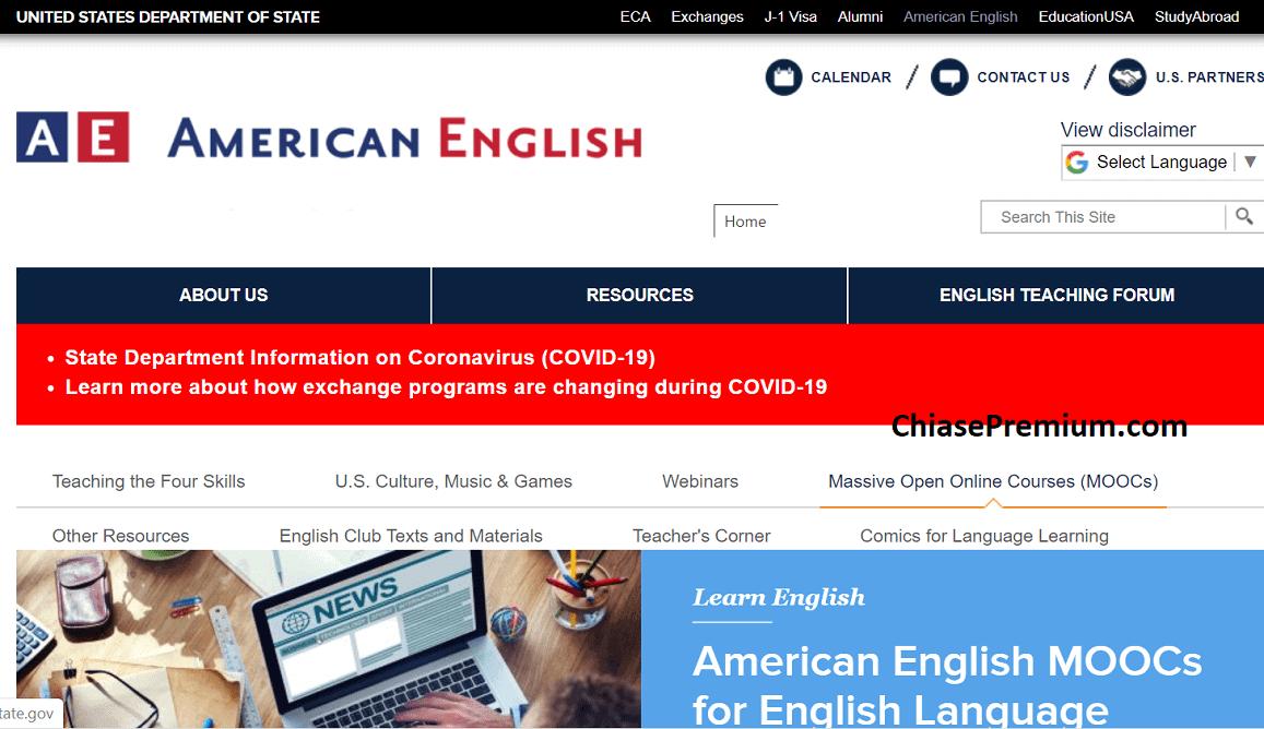 American English dành cho giáo viên và học viên American English trên toàn thế giới