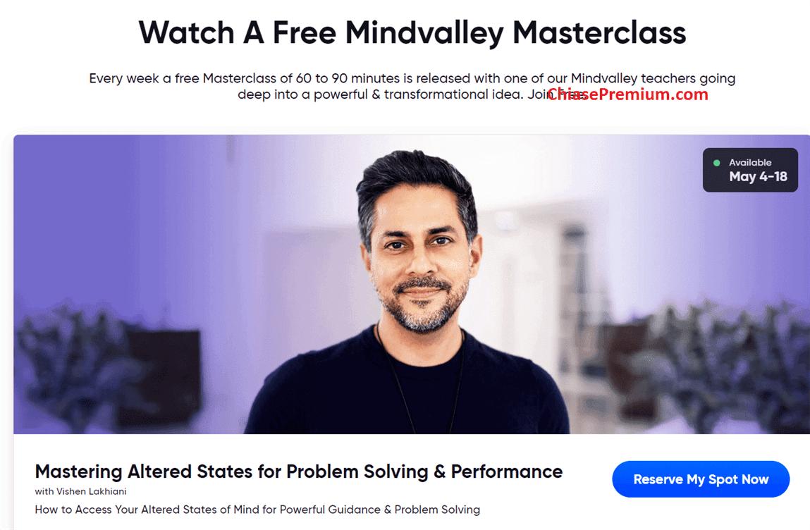 Mindvalley đòi hỏi một sự cam kết về thời gian để tận dụng tối đa giá trị mà khóa học mang lại.