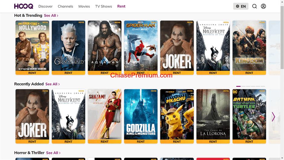 Hooq.tv la gi Dich vu cho thue phim truc tuyen - Đánh giá nhanh và chia sẻ tài khoản Hooq.tv 2020 – Trải nghiệm gần tương đương HBO, Netlix