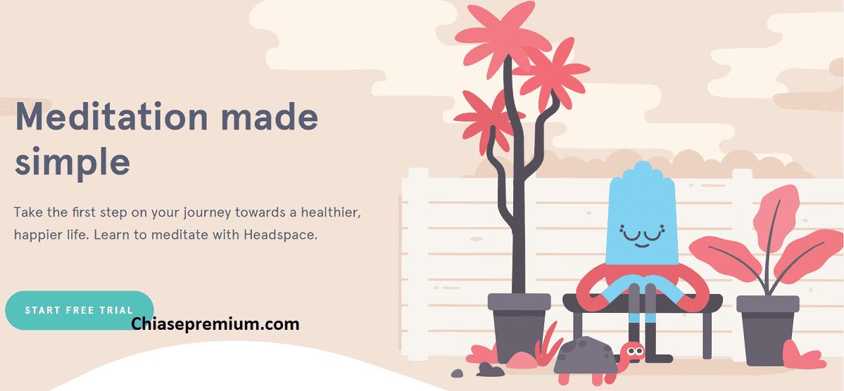 hình ảnh chú thích: Headspace sử dụng một loạt phim hoạt hình để minh họa các nguyên tắc thiền định. Bạn sẽ thấy anh chàng nhỏ bé dễ thương này khá thường xuyên.