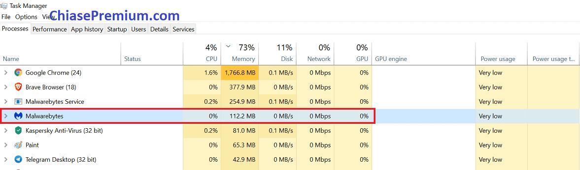 Malwarebytes không làm chậm máy tính của bạn.