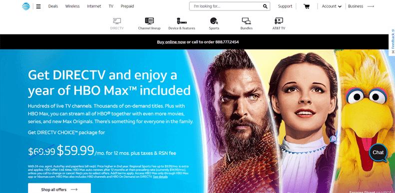 DIRECTV là một dịch vụ giải trí trực tuyến tương tự như Netflix