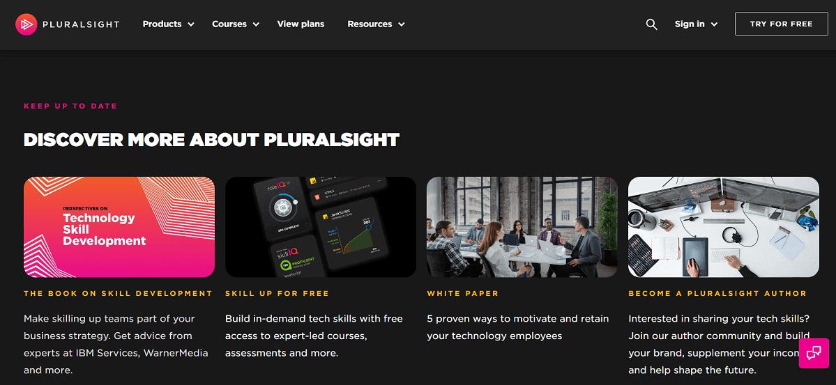Bạn hoàn toàn có thể học lập trình online với một tài khoản Pluralsight trả phí