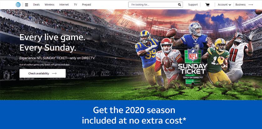 Gói NFL Sunday Ticket