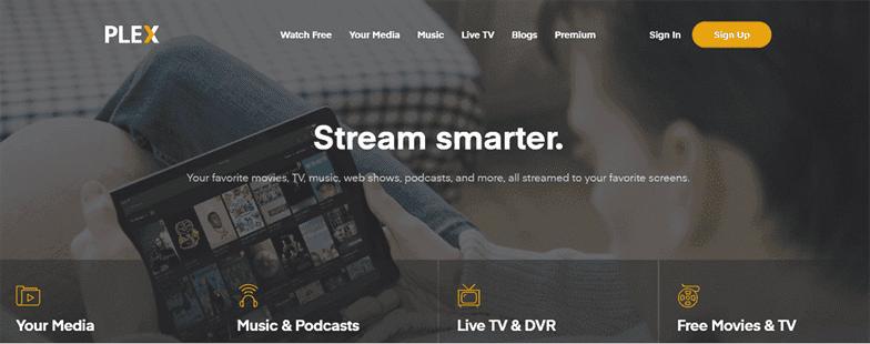 Plex là dịch vụ giải trí có chút khác biệt so với Netflix.