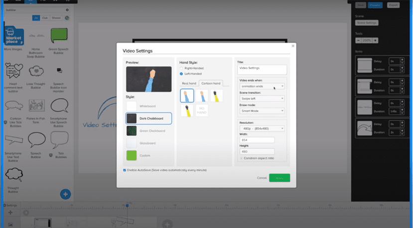 Đánh giá Doodly, phần mềm làm video doodle tiện lợi