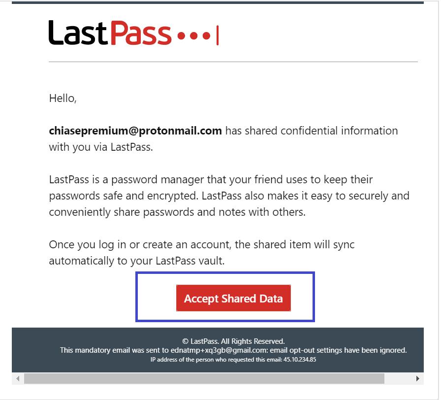 Xác nhận thông tin chia sẻ được gửi tới địa chỉ email của bạn.