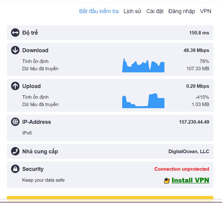 3 Kiem tra toc do Hola Plus - Chia sẻ trải nghiệm với 5 tiện ích mở rộng VPN dành cho trình duyệt tốt nhất 2020