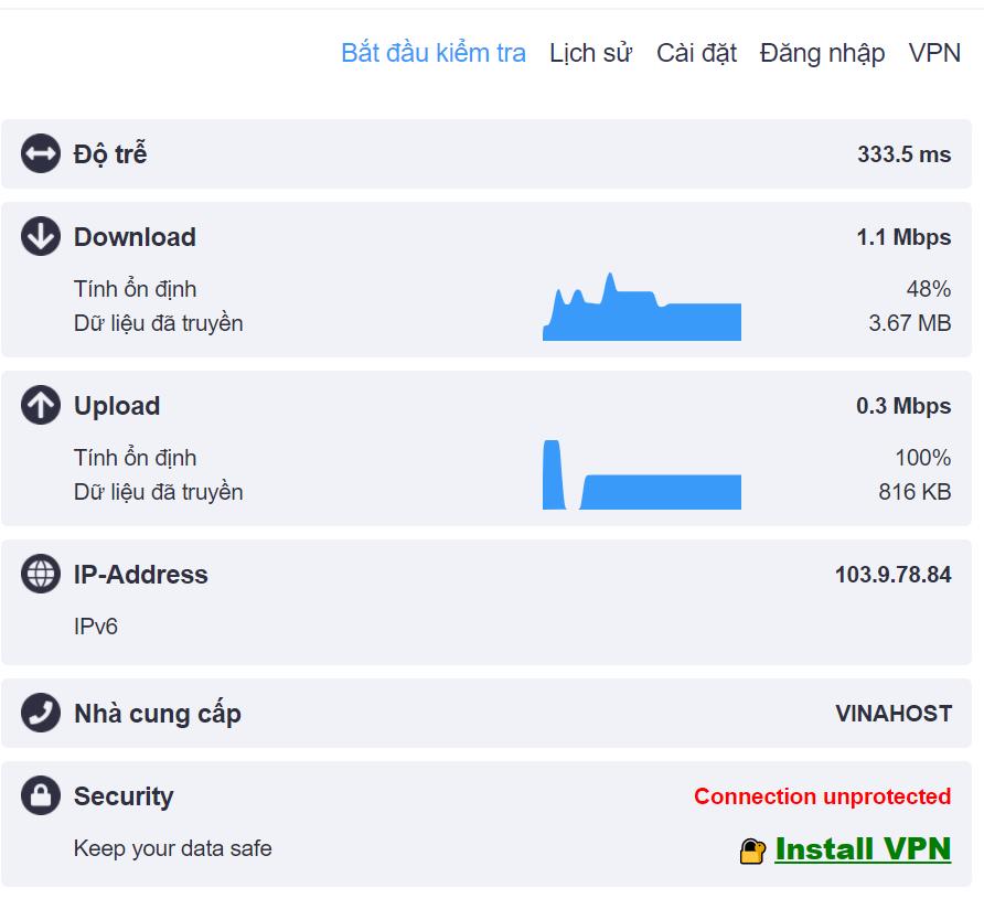 3 Kiem tra toc do KeepSolid VPN - Chia sẻ trải nghiệm với 5 tiện ích mở rộng VPN dành cho trình duyệt tốt nhất 2020